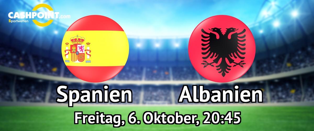 Albanien Vs Spanien